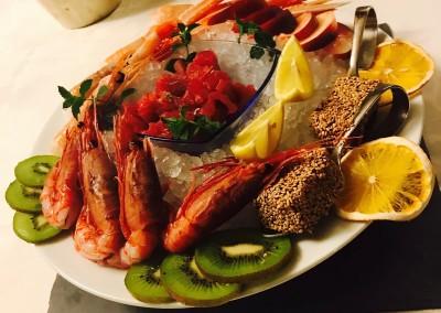 Ristorante la baita piatto di pesce